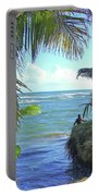 Beautiful Waters Of Puerto Rico Portable Battery Charger