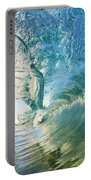 Beautiful Wave And Sunlight Portable Battery Charger