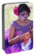 Beautiful Woman Day Of Dead IIi Portable Battery Charger