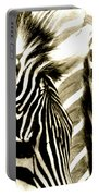 Beautiful Zebras Portable Battery Charger