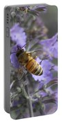 Beauty And The Bee Portable Battery Charger