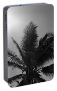 Beauty And The Palms In  Dominican Republic  Portable Battery Charger