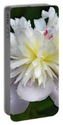 Beauty Can't Be Dampened - Festiva Maxima Double Peony Portable Battery Charger