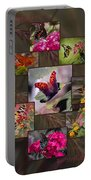 Beauty In Butterflies Portable Battery Charger