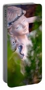 Beauty In The Ferns Portable Battery Charger