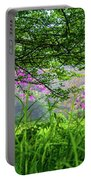 Beauty In The Fog Portable Battery Charger