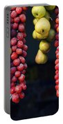 Beauty In Tomatoes Garlic And Pears Portable Battery Charger