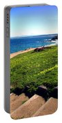Beauty Of The Pacific Grove Shoreline Two Portable Battery Charger