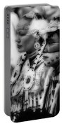 Pow Wow Beauty Of The Past Portable Battery Charger