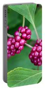 Beautyberry Bush Portable Battery Charger