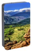 Beaver Meadows In Rocky Mountain National Park Portable Battery Charger