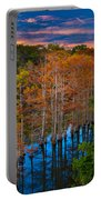 Beavers Bend Twilight Portable Battery Charger