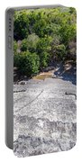 Becan Pyramids Looking Down Portable Battery Charger