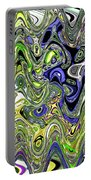 Bedtime Color Abstract Portable Battery Charger