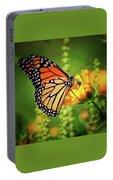 Bee And Butterfly Portable Battery Charger