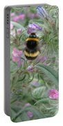 Bee And Flower Portable Battery Charger
