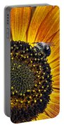 Bee And Sunflower. Portable Battery Charger