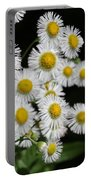Bee And Wildflower  Portable Battery Charger