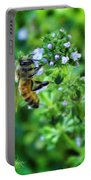 Bee Is In The Oregano Portable Battery Charger
