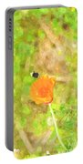 Bee My Flower Portable Battery Charger