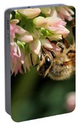 Bee On Flower 1 Portable Battery Charger