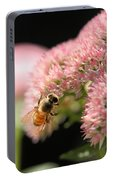 Bee On Flower 3 Portable Battery Charger