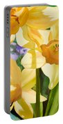 Bee Open By Marilyn Nolan-johnson Portable Battery Charger