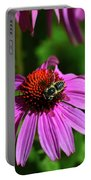 Bee Taking A Rest Portable Battery Charger