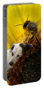 Bee With Dog Portable Battery Charger