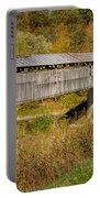 Beech Fork Or Mooresville Covered Bridge Portable Battery Charger