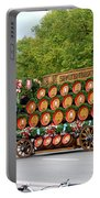 Beer Barrels On Cart Portable Battery Charger