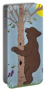 Bees And The Bear Portable Battery Charger