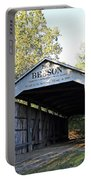 Beeson Covered Bridge Indiana Portable Battery Charger