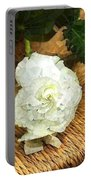 Begonia In Repose Portable Battery Charger