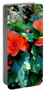 Begonia Plant Portable Battery Charger
