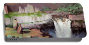 Beholding Palouse Falls Portable Battery Charger