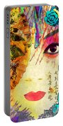 Beijing Opera Girl  Portable Battery Charger