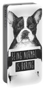 Being Normal Is Boring Portable Battery Charger
