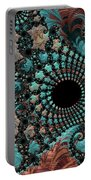 Bejeweled Fractal Portable Battery Charger