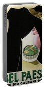 Bel Paese - Melzo, Italy - Vintage Cheese Advertising Poster Portable Battery Charger