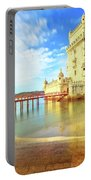 Belem Tower Reflects Portable Battery Charger