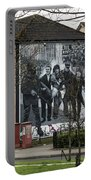 Belfast Mural - Civil Rights Association - Ireland Portable Battery Charger