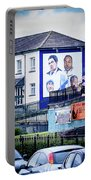 Belfast Mural - Humanitarians - Ireland Portable Battery Charger