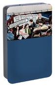 Belfast Mural - Sledge Hammer - Ireland  Portable Battery Charger