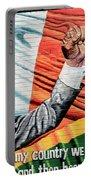 Belfast Mural - Mandella - Ireland Portable Battery Charger