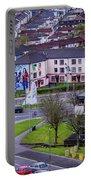 Belfast Mural - Derry Neighborhood - Ireland Portable Battery Charger