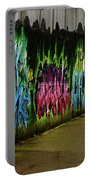 Belfast - Painted Wall - Ireland Portable Battery Charger