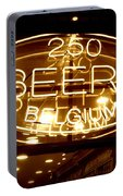 Belgian Beer Sign Portable Battery Charger