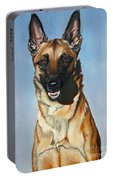 Belgian Malinois Portable Battery Charger