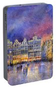 Belgium Brussel Grand Place Grote Markt Portable Battery Charger